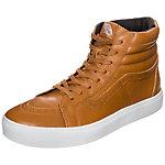 Vans Sk8-Hi Cup Leather Sneaker Herren ocker / weiß