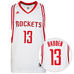 adidas Houston Rockets Harden Basketball Trikot Herren weiß / rot