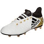 adidas X 16.2 Fußballschuhe Herren weiß / gold