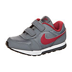 Nike MD Runner Sneaker Kinder grau / rot