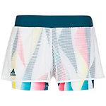 adidas Multifaceted Pro Tennisshorts Damen weiß / bunt