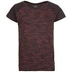 hummel Classic Bee Wilma T-Shirt Damen schwarz / bordeaux