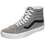 Vans Sk8-Hi Reissue Varsity Sneaker grau / dunkelblau
