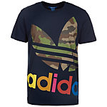 adidas Block It Out T-Shirt Herren dunkelblau / bunt