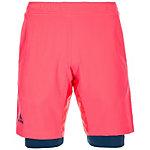 adidas Multifaceted Pro Tennisshorts Herren neonrot / dunkelblau