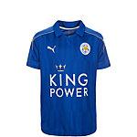 PUMA Leicester City 16/17 Heim Fußballtrikot Kinder blau / gold