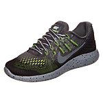 Nike Lunarglide 8 Shield Laufschuhe Damen schwarz / grau