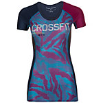 Reebok CrossFit Compression Funktionsshirt Damen blau / lila
