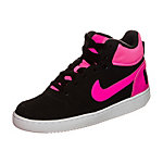 Nike Court Borough Mid Sneaker Kinder schwarz / pink