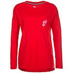 Nike Signal Langarmshirt Damen rot / pink