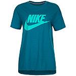 Nike Signal T-Shirt Damen petrol / grün