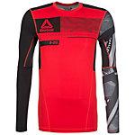 Reebok ONE Series ACTIVChill Compression Funktionsshirt Herren rot / schwarz / grau