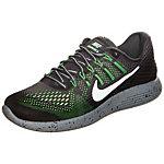 Nike Lunarglide 8 Shield Laufschuhe Herren grau / neongelb
