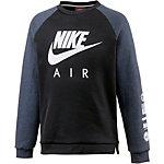 Nike Hoodie Jungen schwarz/grau