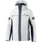 KJUS Downforce Skijacke Herren weiß/graublau