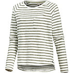 Roxy Keep Up Blues Sweatshirt Damen weiß/oliv