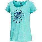 Roxy Bobby Twist Tropical Things T-Shirt Damen mint