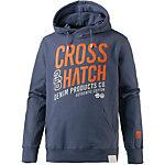 Crosshatch Sweatshirt Herren indigo