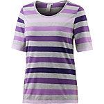 Joy Wenke T-Shirt Damen lila/grau