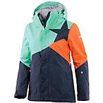 Zimtstern Zarin Snowboardjacke Damen blau/mint/orange