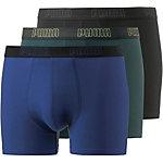 PUMA Boxer Herren schwarz/dunkelgrün/blau