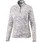Odlo Chute Layerlangarmshirt Damen grau/weiß
