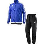 adidas Tiro 15 Trainingsanzug Herren blau/schwarz