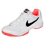 Nike Court Lite Tennisschuhe Damen weiß / apricot