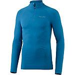 Falke Skishirt Herren blau
