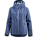 The North Face Apex Flex Softshelljacke Damen blau/grau
