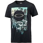 Oakley Surf Printshirt Herren schwarz