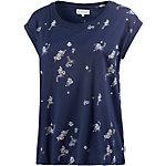 Element Amorie Jerseykleid Damen blau/weiß