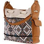 Roxy Yucatan Spirit Handtasche Damen braun/bunt