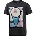 Quiksilver Sections T-Shirt Herren schwarz