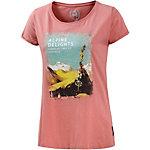 Alprausch Alpstöckli T-Shirt Damen rosa