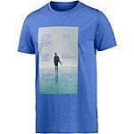 Ezekiel Grande Printshirt Herren blau