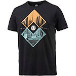 Element Intersect T-Shirt Herren schwarz