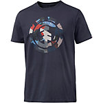 Element Cut Out Icon Printshirt Herren navy