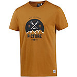 Picture Rico Printshirt Herren orange