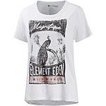 Element Magnifique Printshirt Damen weiß