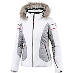 CMP Skijacke Damen weiß/grau