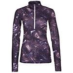 Nike Pro Warm Funktionsshirt Damen lila / flieder