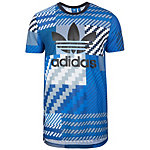 adidas Essentials Trefoil T-Shirt Herren blau / grau
