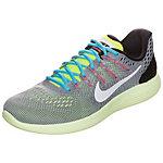 Nike Lunarglide 8 Laufschuhe Herren grau / neongelb