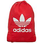 adidas Gymsack Tricot Turnbeutel rot / weiß
