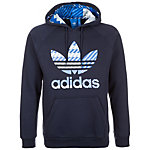 adidas Essentials Over The Head Kapuzenpullover Herren blau / weiß / grau
