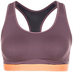 Nike Pro Fierce Sport-BH Damen lila / orange
