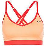 Nike Pro Indy Cross Back Sport-BH Damen orange / rot