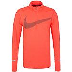 Nike Dry Element GX Laufshirt Herren orange / schwarz