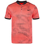 Nike Court Advantage Premier Tennis Polo Herren korall / schwarz